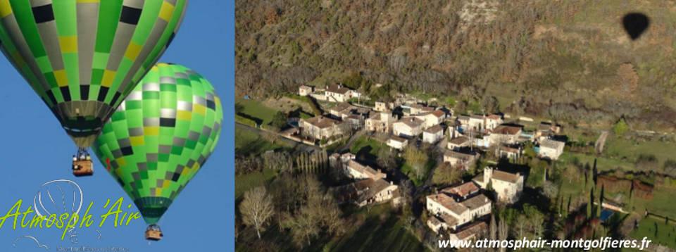 Labarthe Bleys en montgolfière