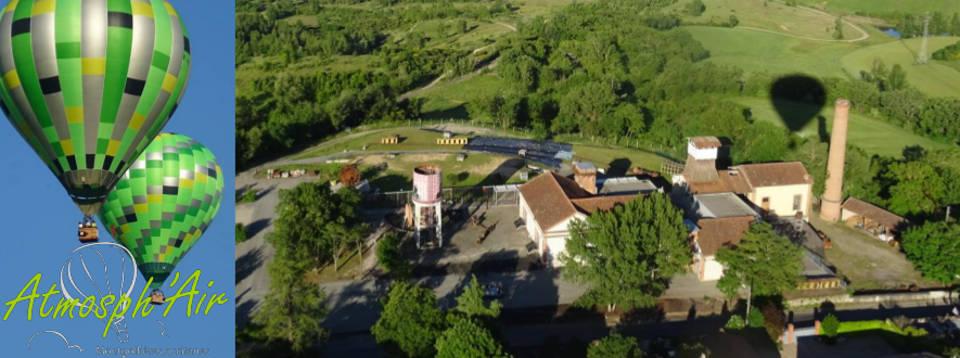 Musée de la Mine - Cagnac les Mines en montgolfière