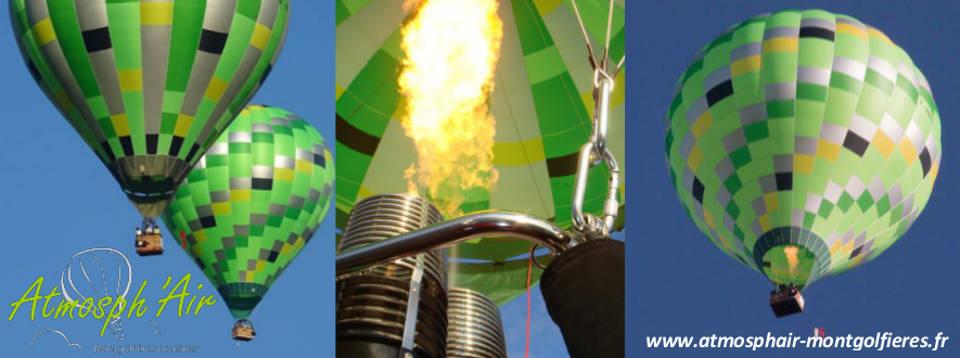 montgolfière Atmosph'Air à Lavaur