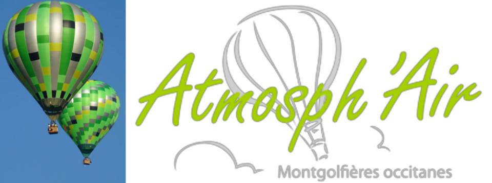 logo de la société Atmosph'Air montgolfières occitanes dans le Tarn