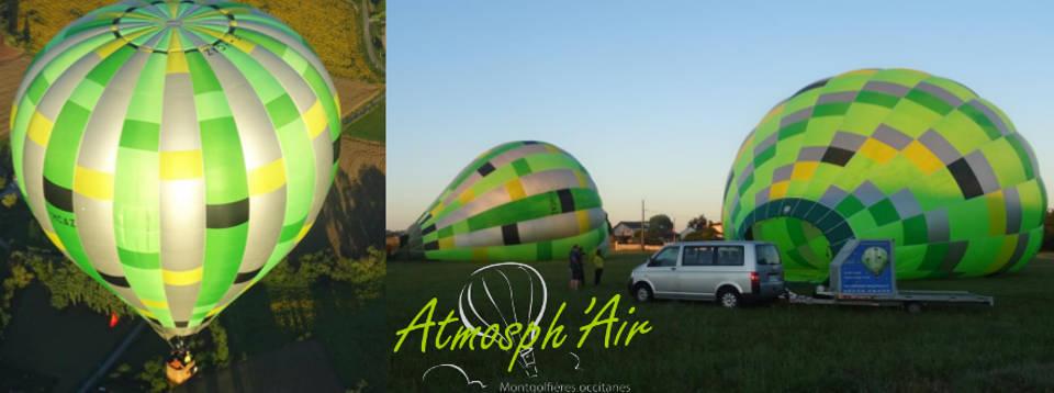 offrir un vol en montgolfière dans le Tarn