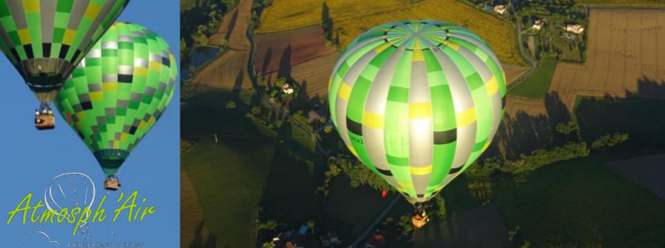 Départ à la retraite en montgolfière Tarn