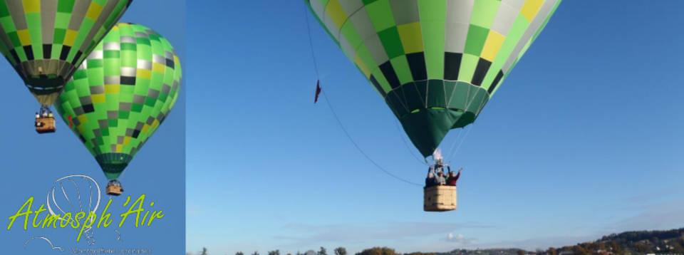 décolage montgolfière dans le Tarn et Aveyron