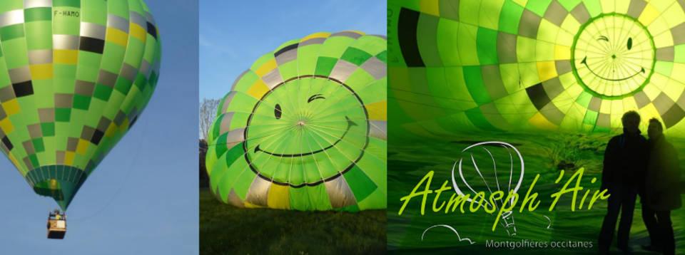 Séjour montgolfière Albi dan le Tarn