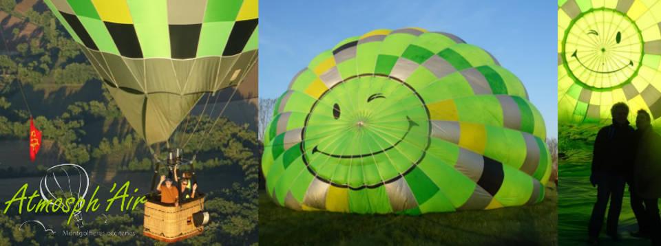 Baptême en montgolfière dans le département du Tarn au gré du vent