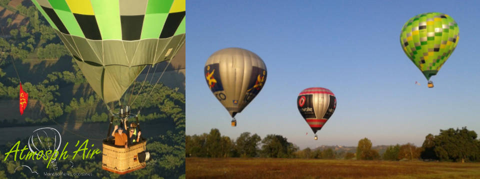 séminaire entreprise montgolfière Haute Garonne - Tarn