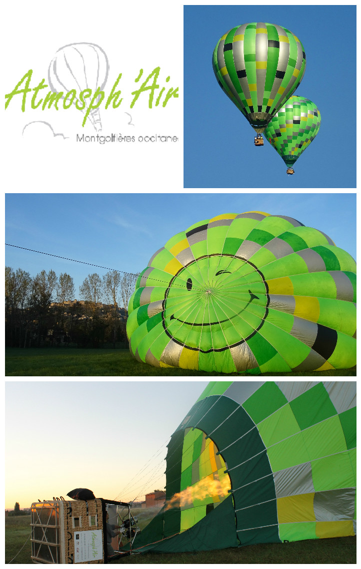 Décollage en montgolfière du golf Toulouse