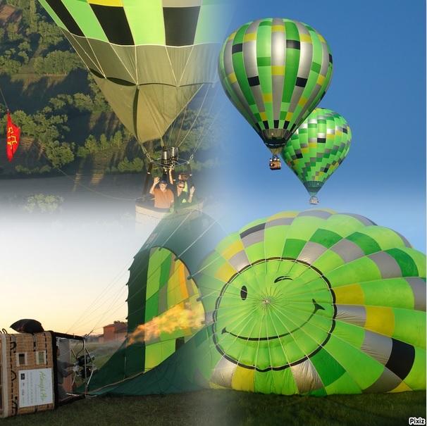 cadeau de noël midi pyrénées montgolfière