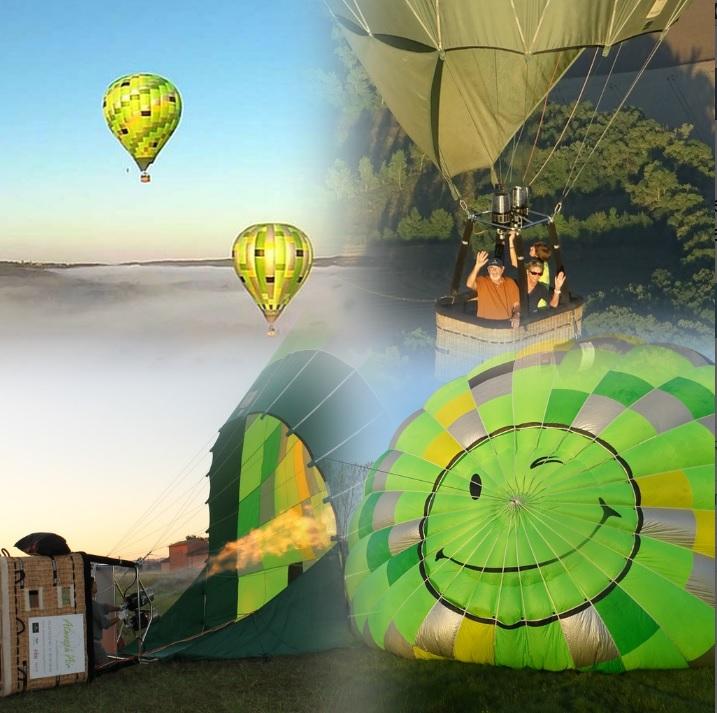 Atmosph'Air montgolfière au départ de Castelnau de Montmiral