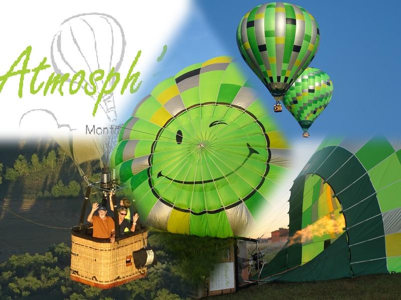 cadeau de noël Toulouse vol en montgolfière