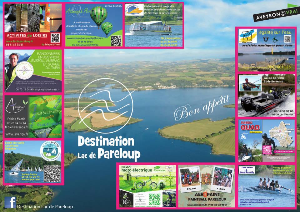 montgolfière activités de loisirs autour du lac de Pareloup Aveyron
