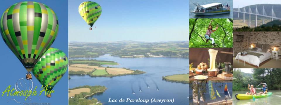 Visites et séjours Aveyron en montgolfière