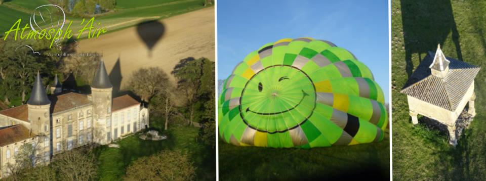 Séjour week end dans le Tarn avec Atmosph'Air montgolfières