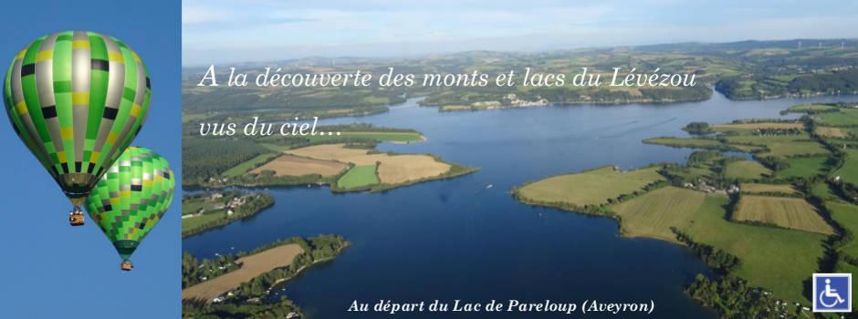 Montgolfière Aveyron au Lac de Pareloup