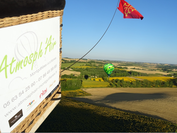Visite et Vol en montgolfière dans le Tarn