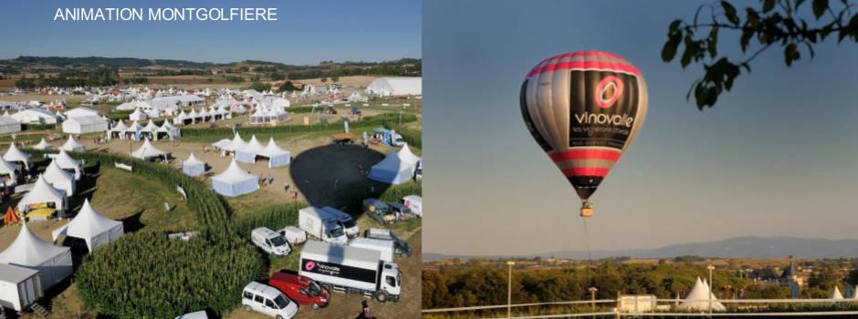 animation montgolfière - événementiel montgolfière