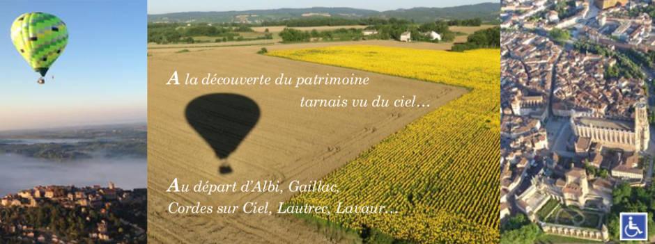 Cadeau baptême en montgolfière Tarn Aveyron Haute Garonne