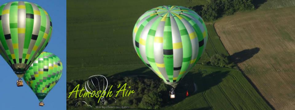 Chambre d'hôte + vol en montgolfière dans le Tarn