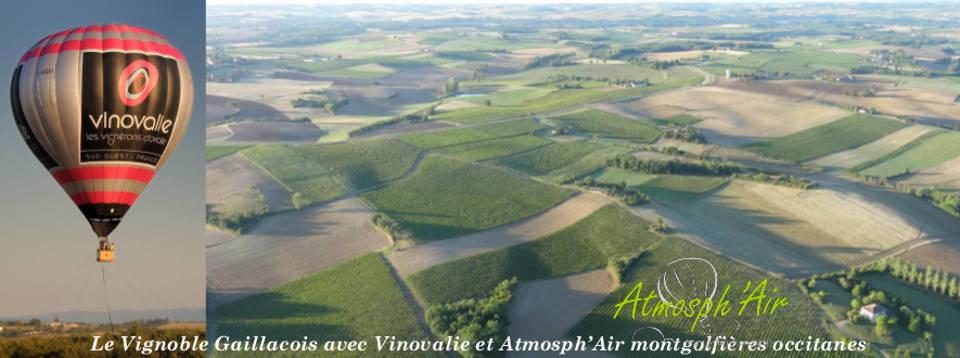 Montgolfière Vinovalie Técou Gaillac Rabastens Fronton Cahors