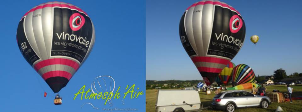 meeting aérien de montgolfière avec Vinovalie sud ouest