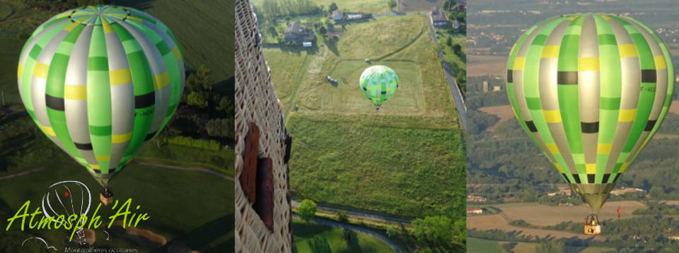 offrir un baptême de l'air en montgolfière dans le Tarn