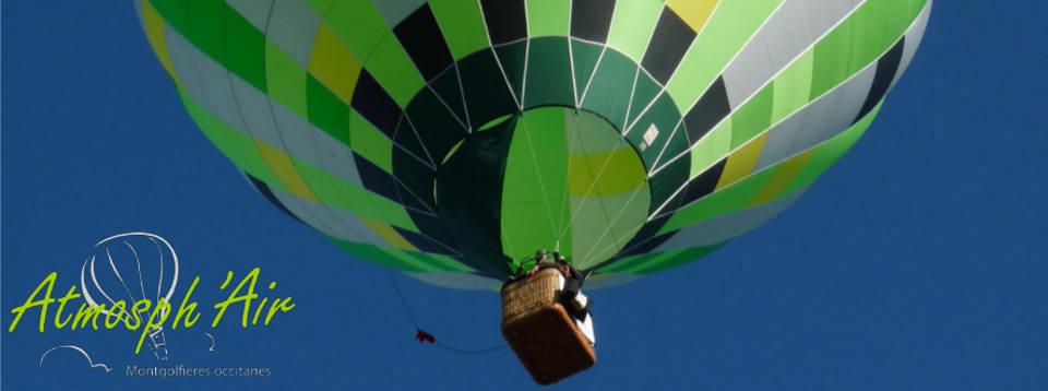 Départ d'une montgolfière dans le Tarn