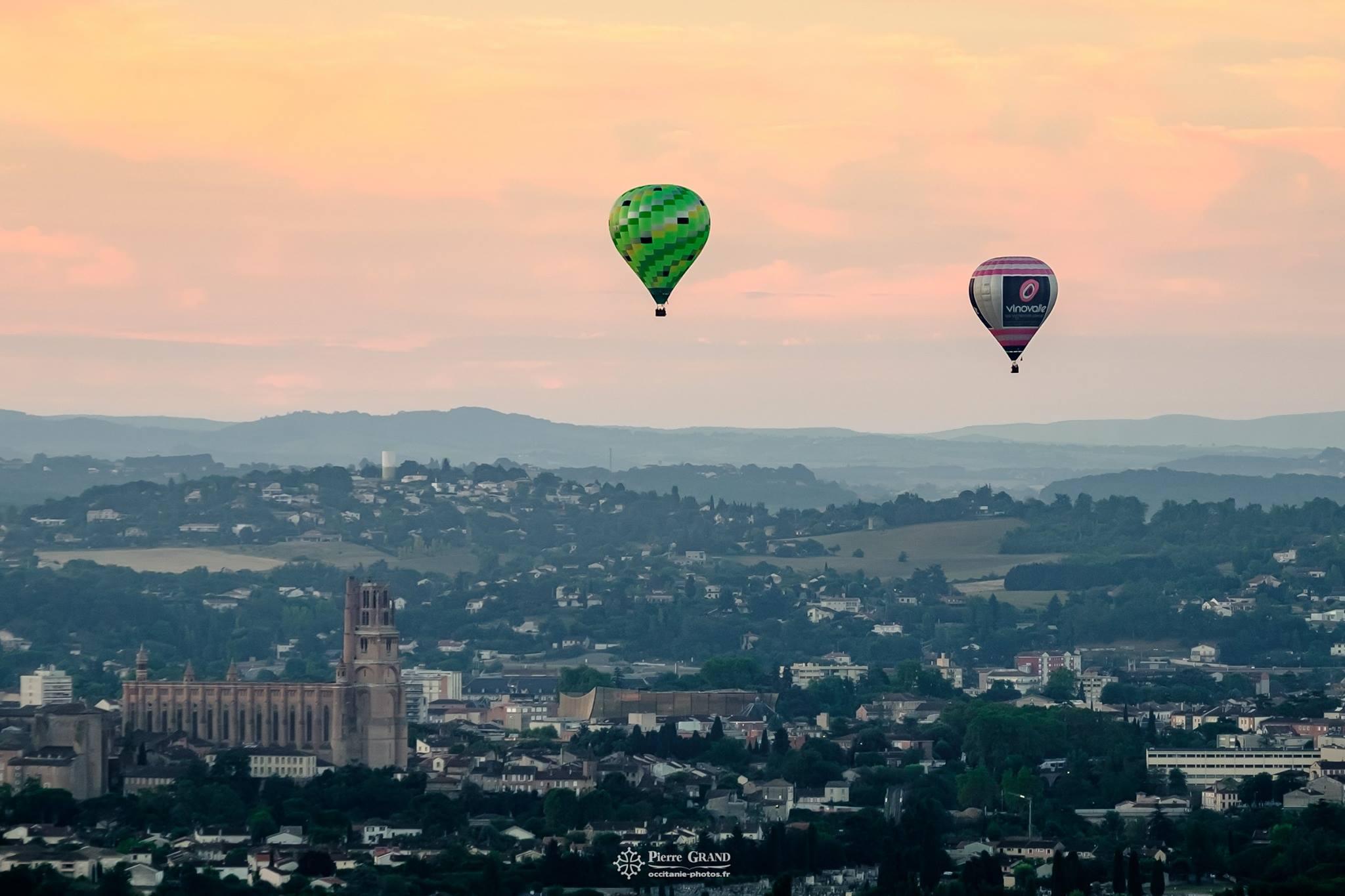 idée cadeau pot de départ montgolfière Toulouse