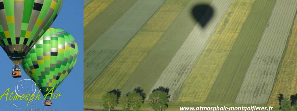 Base de Loisirs d' Aiguelèze et son golf en montgolfière