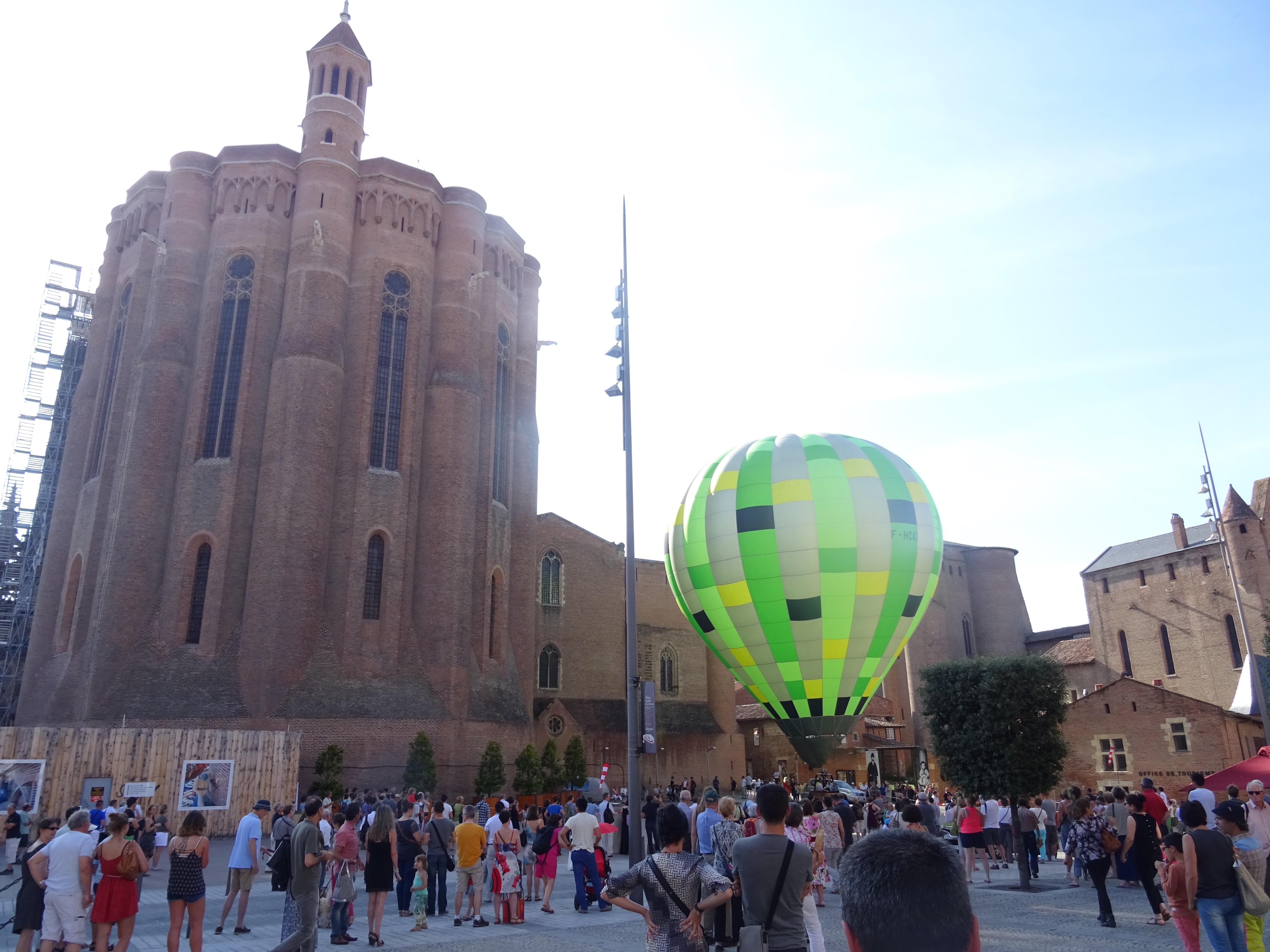 animation fête foire montgolfière captive