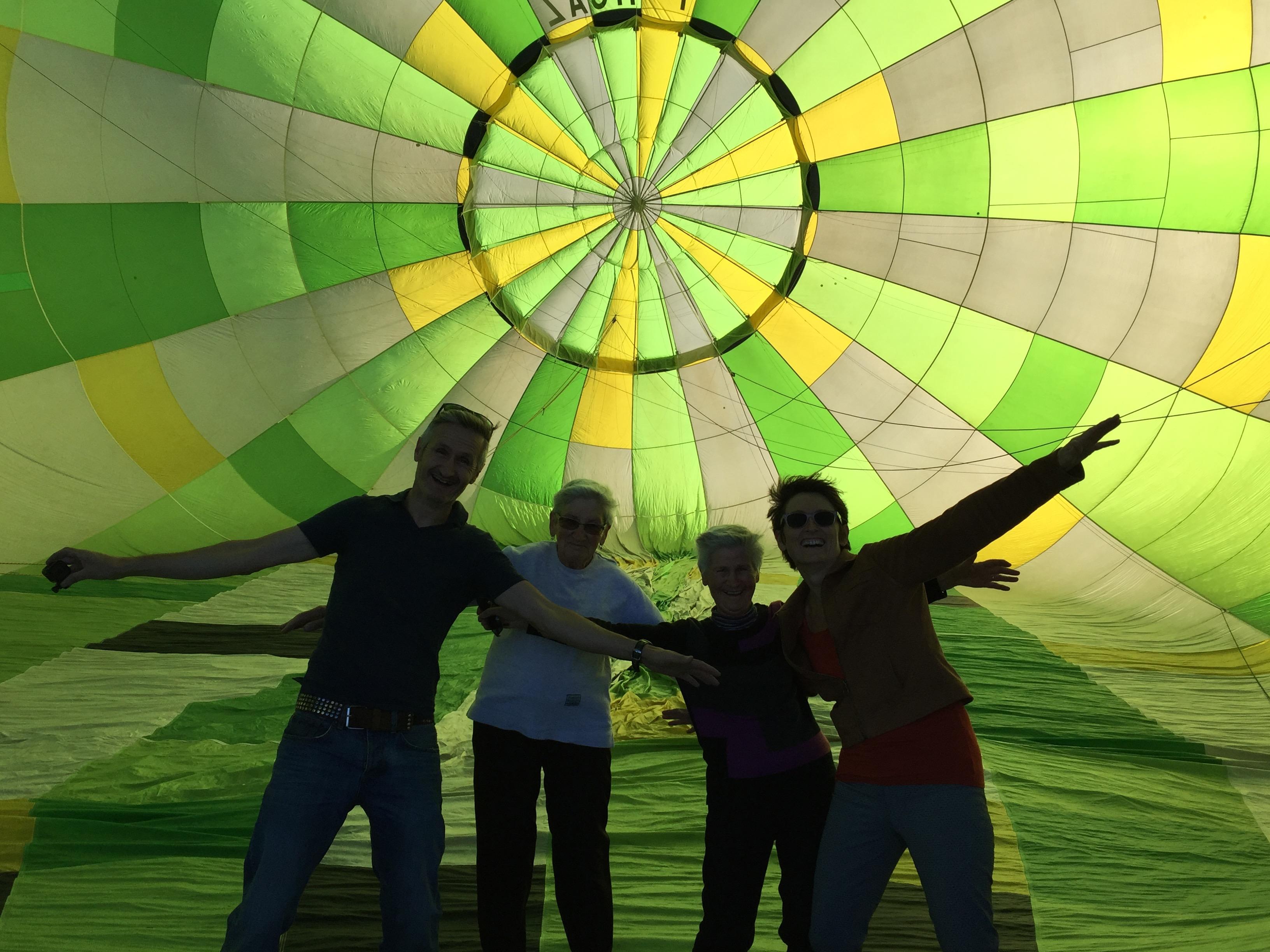 Vol en montgolfière en famille avec Atmosph'Air