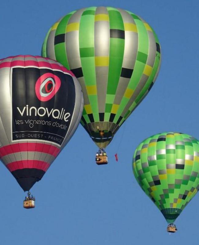 Flotte montgolfières Atmosph'Air