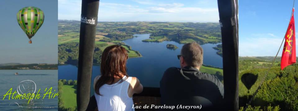 Vol en montgolfière entre Rodez et Millau