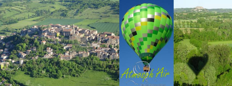 En montgolfière dans le département du Tarn