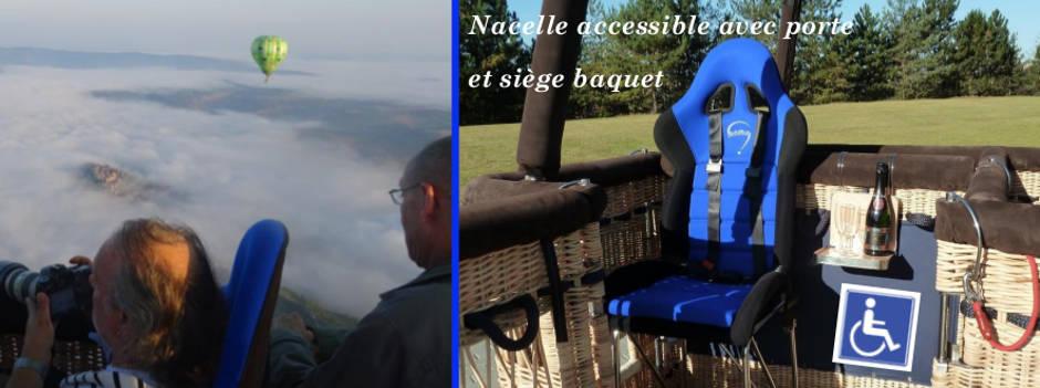 Accessible à l'handicap et à la mobilité réduite