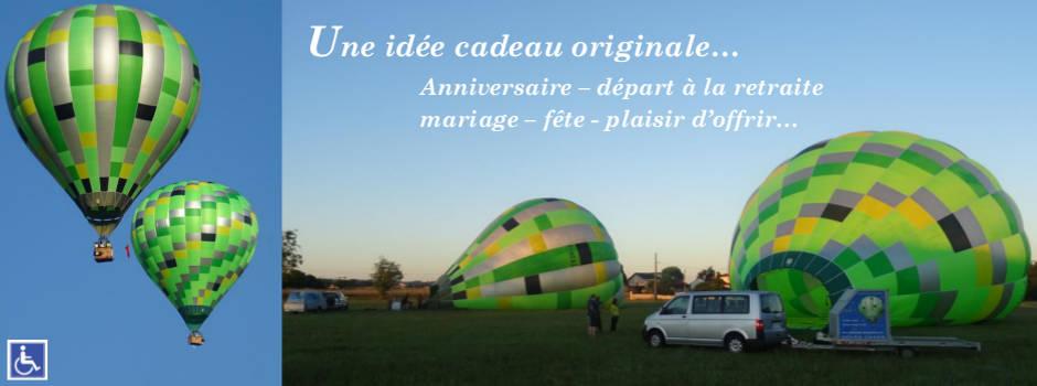 Installation montgolfière ballon à air chaud