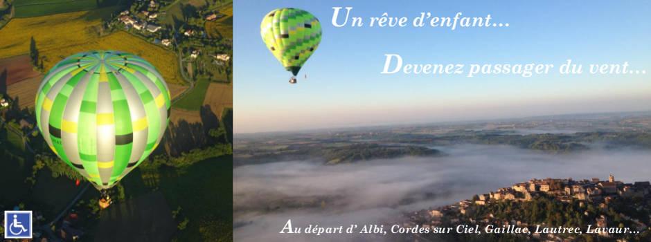 Vol en montgolfière Toulouse