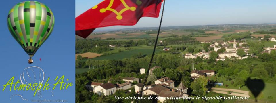 Promenade en montgolfière à Sénouillac dans le Tarn